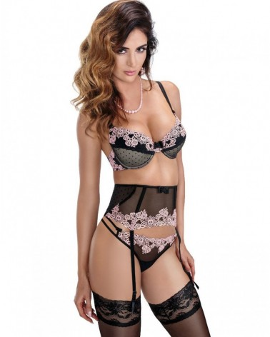 Nefer Suspender Belt Black