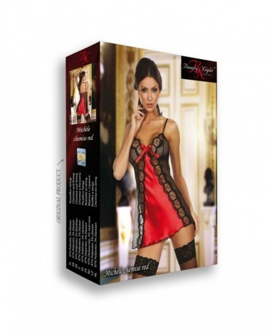 Michele Chemise Red