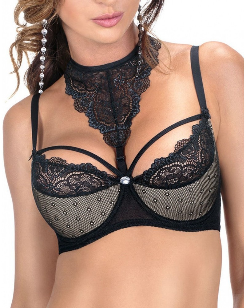 Zulaj Push Up Bra Black