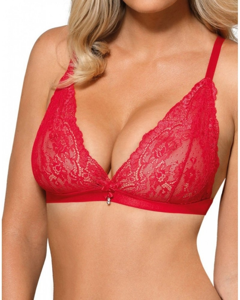 Roza Cyria Red Soft Cup Bra