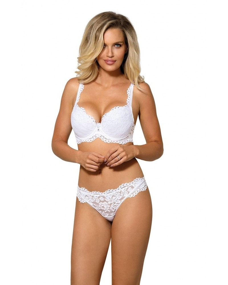 Newia White Push Up Bra