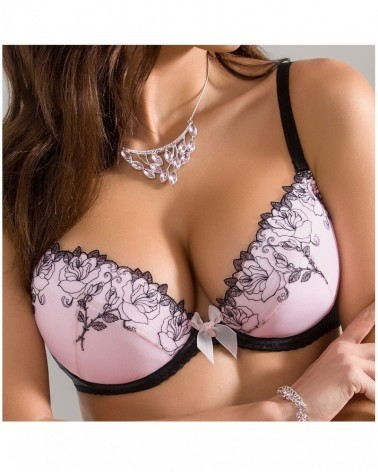 Mulberry push-up bra
