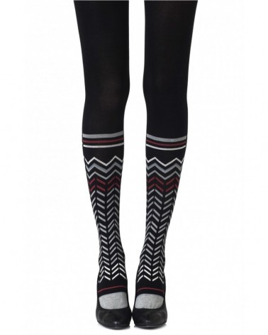 "Zohara ""Zig Zag Walk"" Tights"