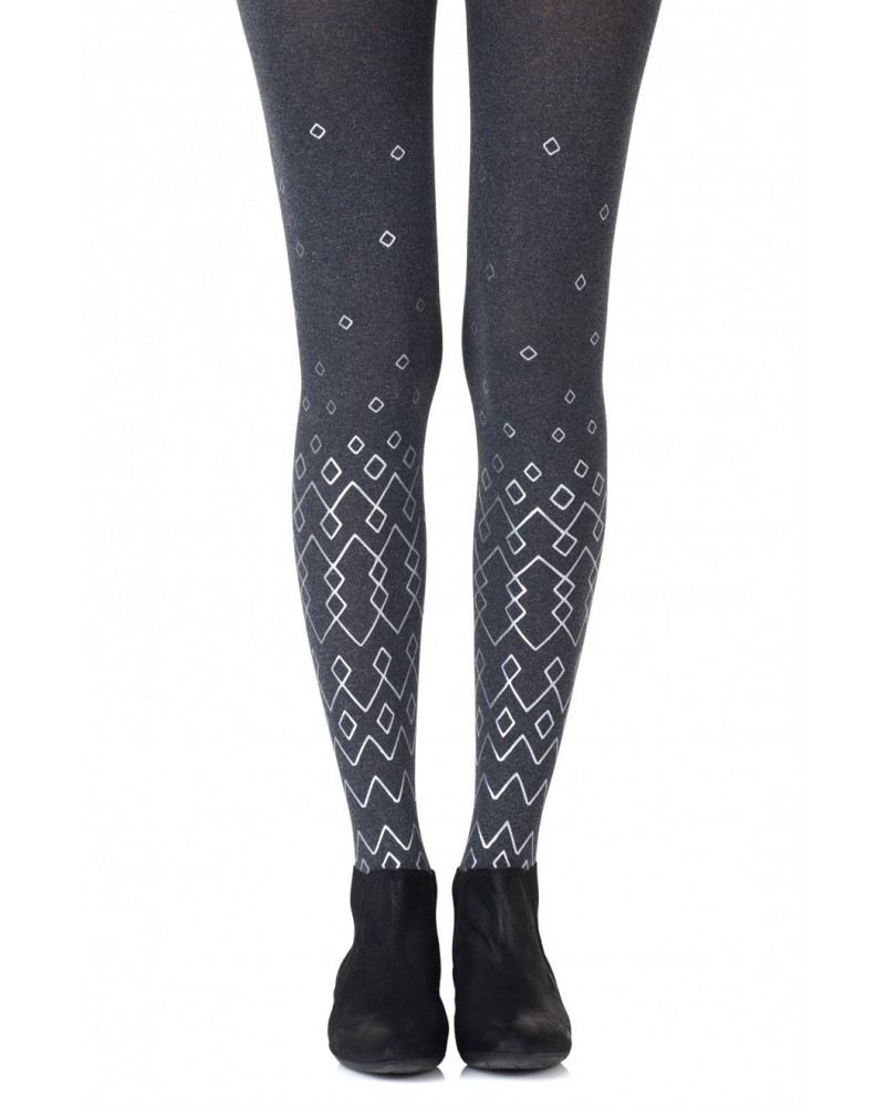 "Zohara ""Diamonds Are Forever"" Tights"
