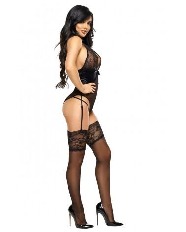 Laurienne Black Teddy