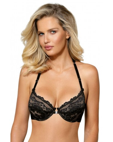 Sefia Black Soft Cup Bra
