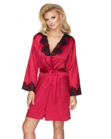 Irall Juniper Burgundy Dressing Gown