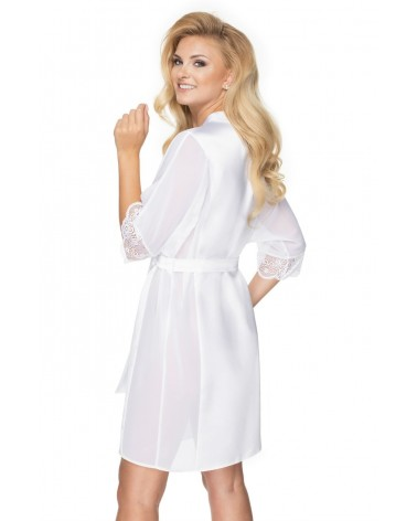Irall Sharon Dressing Gown White