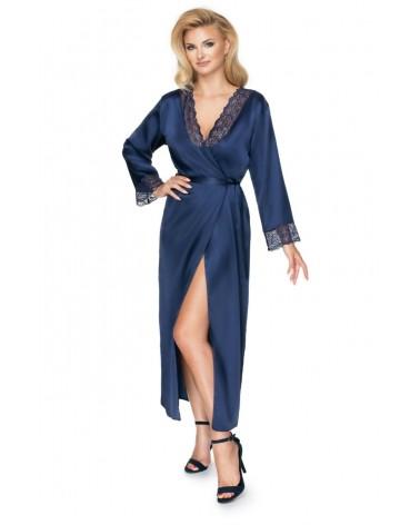 Irall Yoko Dressing Gown Navy Blue