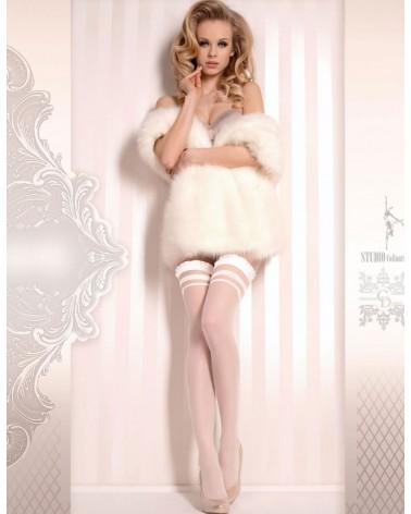 Ballerina 375 Hold Ups Bianco (White)