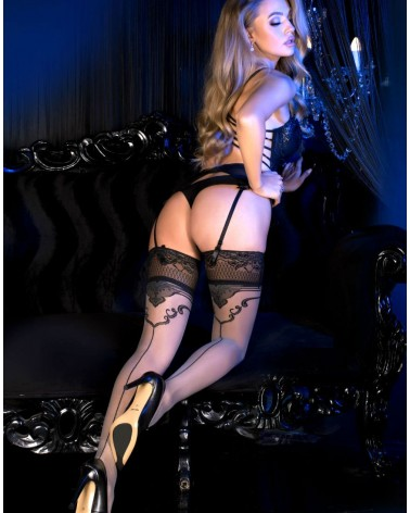 Ballerina 493 Hold Ups Grey