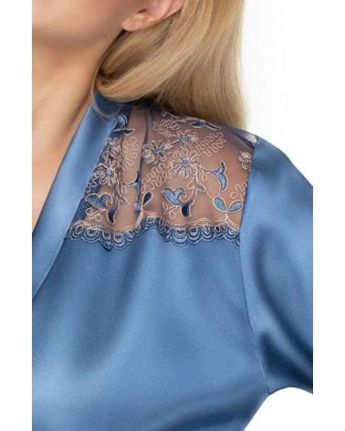 Irall Sapphire Dressing Gown Azure (Blue)
