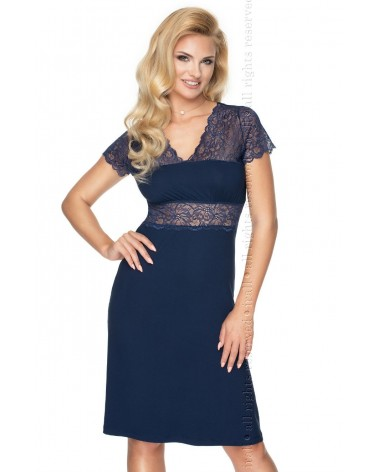 Plus size Irall Cameron Navy Blue Nightdress