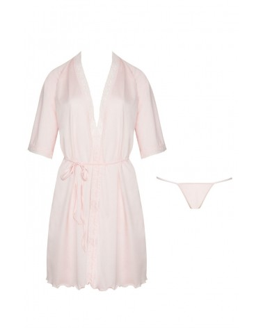 Marcy Pink Dressing Gown