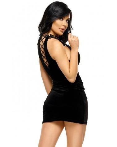 Solange Black Dress