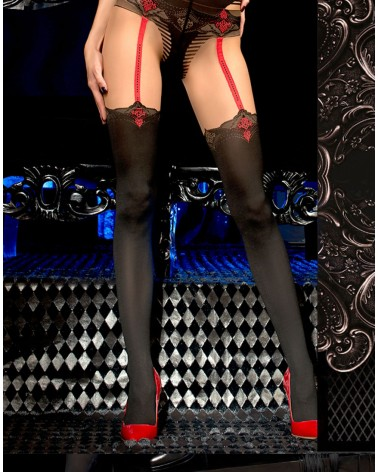 Ballerina 457 Tights Black/Skin