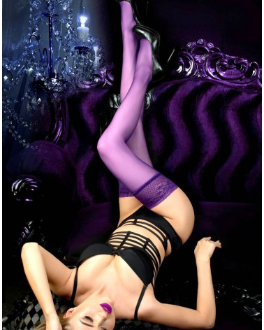 Ballerina 517 Pruga(purple) Hold ups
