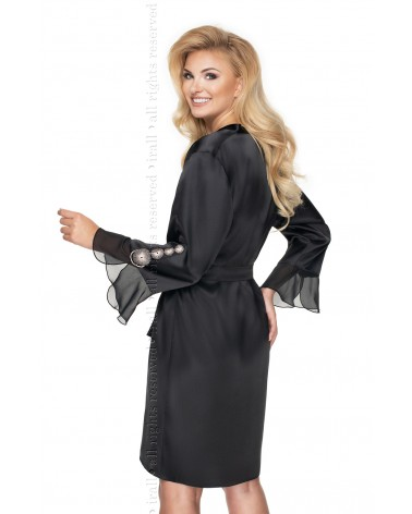 Irall Cleopatra Black Dressing Gown
