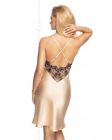 Seductive Stretch Lace Bustier Black Set