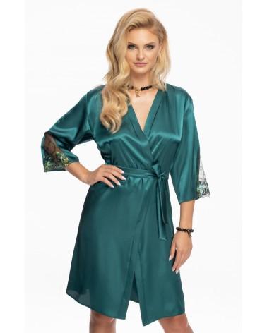 Irall Nikita Dressing Gown Jade, Green