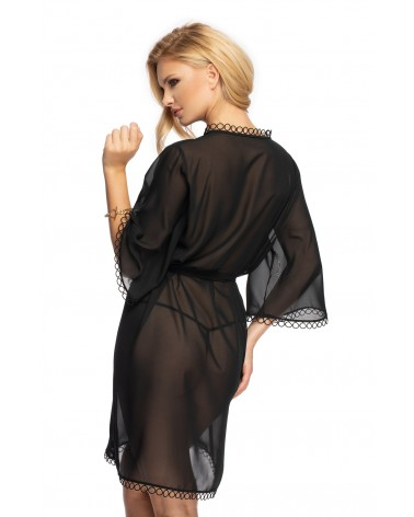 Irall Erotic Sadia Black Dressing Gown