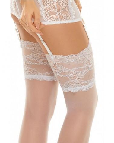 Romance White Stockings