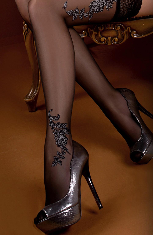 Martha Black Nero Tights