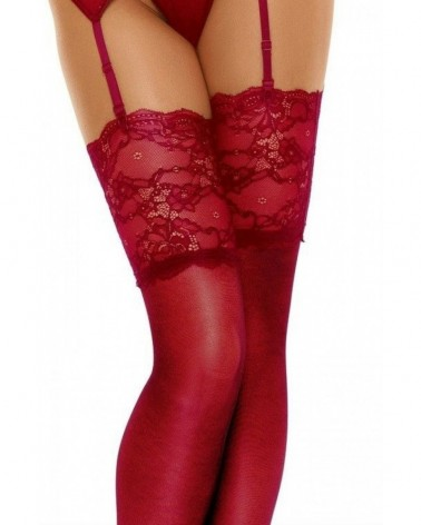 Romance Red Stockings