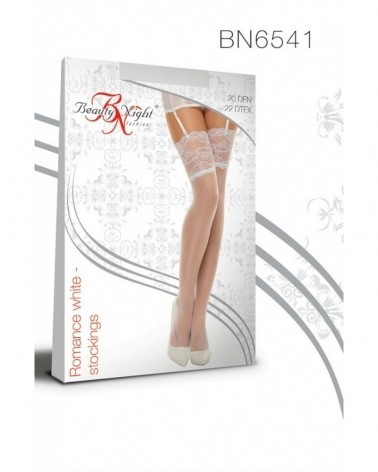 Romance White Stockings