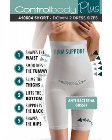 Pants 410604 High Waist Long Shaping Shorts