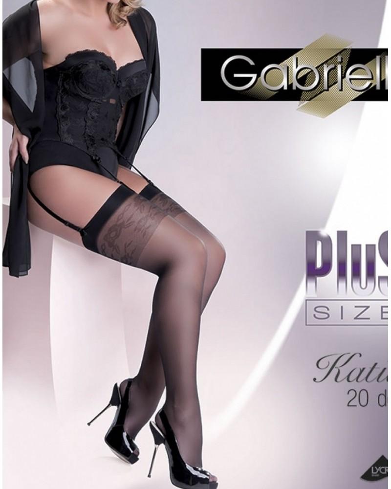 Katia Black Stockings Plus