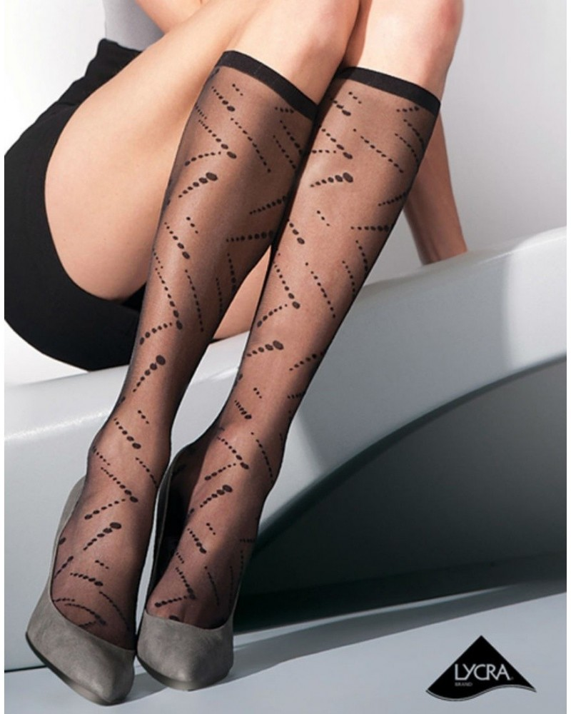 Charmea black stockings
