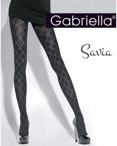 Savia Black Tights