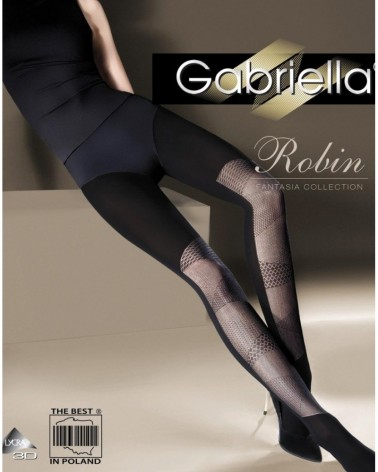 Fantasia Robin Black Tights