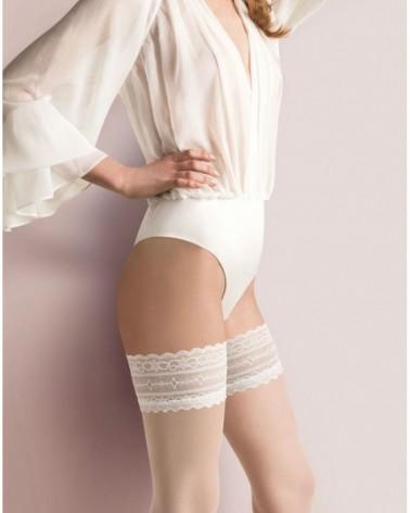Calze Caroline Bianco Stockings