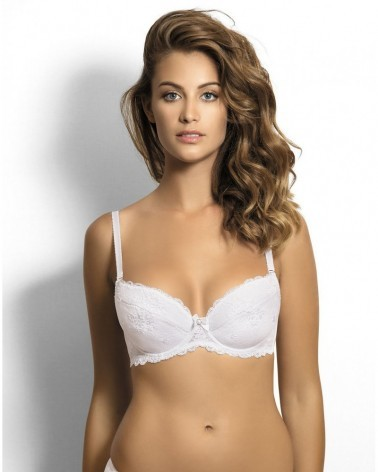 CATE white push-up bra