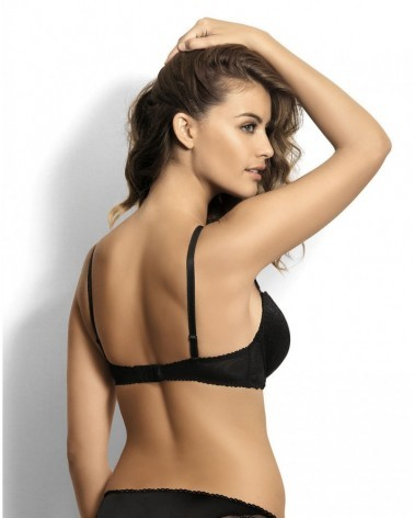 CATE black push-up bra