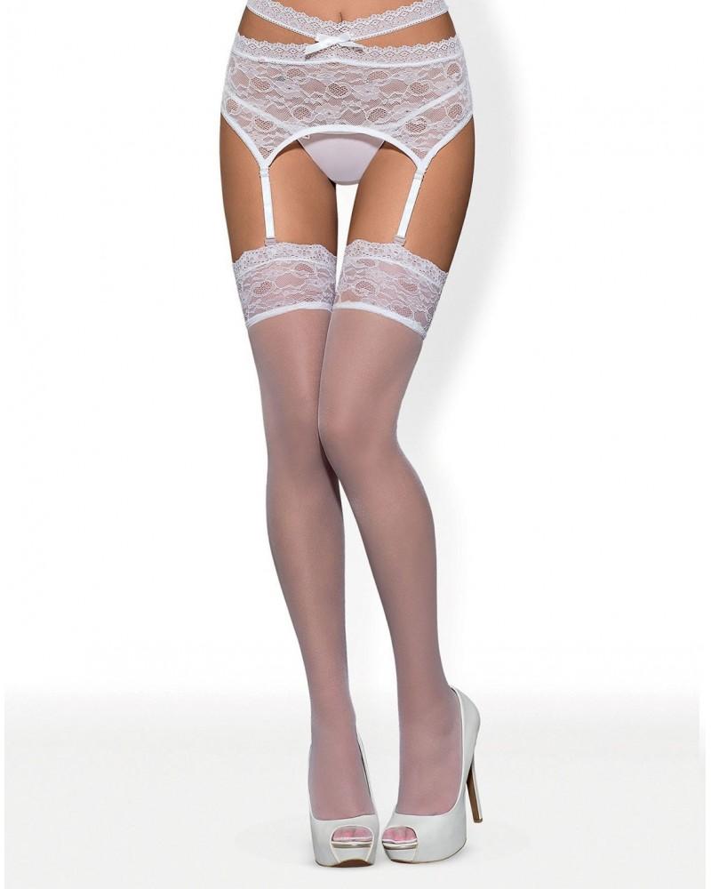 Swanita white stockings
