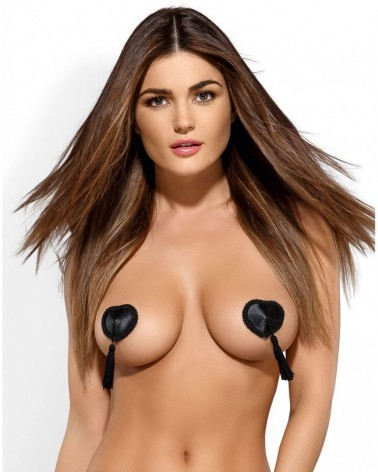 Black nipple covers